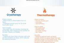 Thermotherapy / Thermotherapy is for sore joint and muscles.