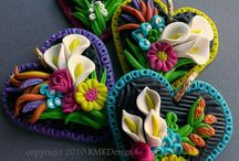 Polymer clay & sculpture / by Heidi Crowley