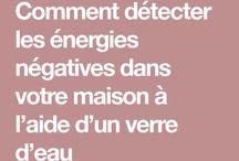 énergie negatives
