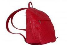 Backpack Ostrich Leather