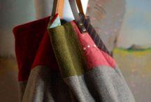 Carteiras tecido/ Carteiras crochet