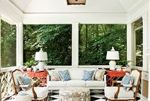 Outdoor patio inspiration / by cynthia