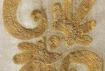 вышивка золотом*серебром 2