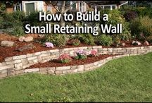 Retaining Walls & Paths & Stairs