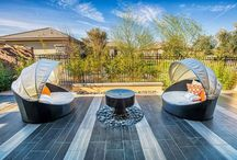 Trilogy at the Polo Club in Indio, Ca / Outdoor living spaces created by Tessera in the Trilogy at the Polo Club in Indio