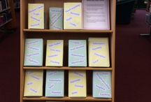 Library Book Displays / See what displays we have created in Haverhill Library.