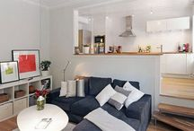 Decorating Small Spaces / Ways to make the most of small living spaces