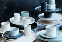 Beautiful tableware / Beautiful tableware inspiration for my food blog Fifth Floor Kitchen