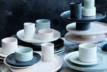 Beautiful tableware / Beautiful tableware inspiration for my food blog Fifth Floor Kitchen