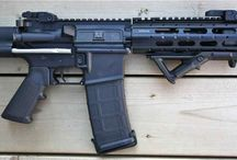 Firearms - AR type rifles and FN Fal or Lm RSA