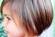 Kinderfrisuren / super einfach, oder elegant oder aussergewöhnlich. Wir wählen Frisuren zur Auswahl zusammen :)