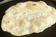 sfoglia di pane senza lievito