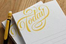 Tipografia & Calligrafia