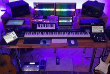 Hommade Recording Studio Desk
