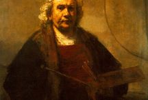 Rembrandt(1606-1669)_dutch baroque / Karmaşık,yoğun - emotions-hazylightshadow-antinormative-formlesspearl-nonclassical-humanism-gamesoflight-suddenlight-realizationoftruth-multichannel composition