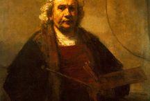 Rembrandt(1606-1669)_dutch baroque / Karmaşık,yoğun - emotions-hazylightshadow-antinormative-formlesspearl-nonclassical-humanism-gamesoflight-suddenlight-realizationoftruth-multichannel composition