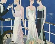 The pleasure of gazing at women in 30s 40s 50s illustration