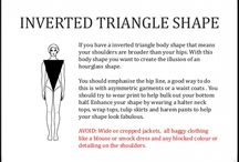Anisa Ghziel Inverted triangle shape