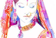 Aquarelle ∞ Watercolor / Oeuvres d'art en aquarelle. Watercolor