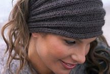 Knitted headbands, cowls and things
