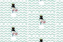 Holiday Fabric / Holiday themed fabric designed by Drape Studio
