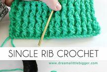 rib crochet