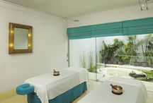 Six Senses Spa and Wellness / Six Senses Spa offers ten private treatment rooms & pavilions. The natural environment has provided inspiration for the spa's four indoor treatment rooms, featuring floor to ceiling windows that reveal intimate outdoor gardens bringing guests closer to nature. An additional five treatment pavilions, two of which are open-air, are surrounded by beautiful ponds filled with water lilies and provide a feeling of floating on water that evokes a sense of healing and calmness.