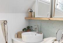 Indretning badeværelse