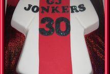 Ajax football cake