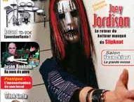 Joey Jordison Magazine Covers