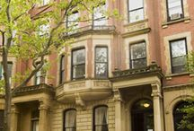 Townhouse Façades in NYC / At Vandenberg, our sole focus is selling townhouses and brownstones in New York City, NY. We are long-time experts in guiding you through the complexities of townhouse sales and purchases.
