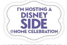 My #DisneySide @Home Celebration Board / I'm hosting a 2015 multi-generational #DisneySide @Home Celebration!