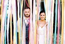 Decorare le nozze con i nastri/ How to decorate weddings with ribbons / Decorazioni di nozze e dettagli realizzati con i nastri/ Wedding decorations with ribbons