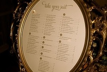 Table plans / The alternative to escort cards