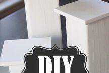 Pedestals DIY