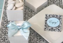 Wedding Favor Boxes / One favor everybody loves is an edible wedding favor! So, why not give your guests wedding favor boxes to take home that are filled with your favorite goodies! Your guests will be sure to love this kind of favor! / by Wedding Favors