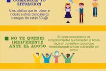 Acoso Escolar / Contiene información de interés sobre cualquier tipo de acoso escolar: bullying, ciberacoso, sexting, grooming...