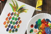 Skole Kunst og Håndverk inspirasjon