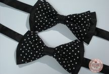 Bow Tie & Cufflinks - by Accessories for Stars / http://accessoriesforstars.blogspot.ro/p/brose.html