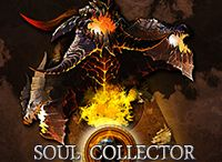 SOUL COLLECTOR / Soul Collector, through a different ATB (Active Time Battle) system which differs from the existing turn-type of TCG (Trading Card Game), has enabled fast combats without having to wait, simultaneously allowing the players to enjoy the existing TCG's strategy and the fun of tactics. By combining various cards, strategies and tactics can be deployed, and with the cards that are added endlessly, the strategies and tactics can be adjusted.