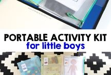activity kit for little boy