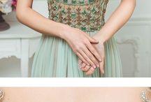 вышивка платьев стразами и бисером