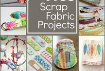 Sewing - scrap fabric projects