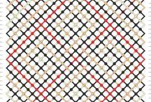 30 to 40 strings Macrame patterns