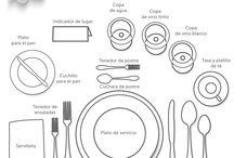 modales y comida