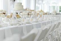 Total white Wedding Ideas
