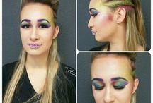 Make Up / Maquillage que je réalise en cours
