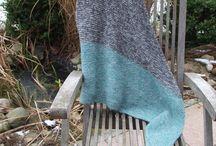 Stricken Tuch Dreieckstuch Omslagdoek Triangle shawl / Stricken