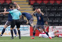 Airdrieonians 22 Oct 16 / Pictures from the SPFL League One game between Airdrieonians and Queen's Park. Match played at the Excelsior Stadium on Saturday 22 October 2016. Airdrieonians won the game 4-1.