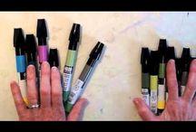 Marker Coloring Tutorials